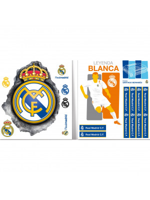 Stickers Logos Real Madrid 23X30 cm