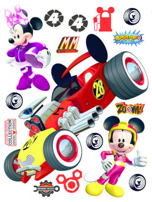 Stickers géant Mickey Roadster Disney