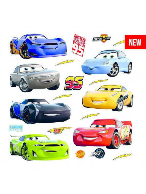 Minis Stickers Cars Disney - 30 CM x 30 CM