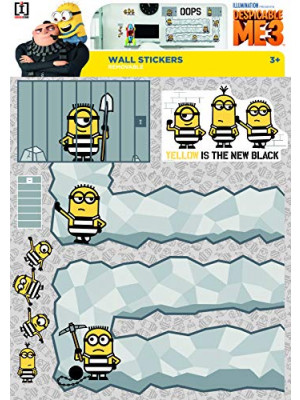 Stickers geant Oops Les Minions