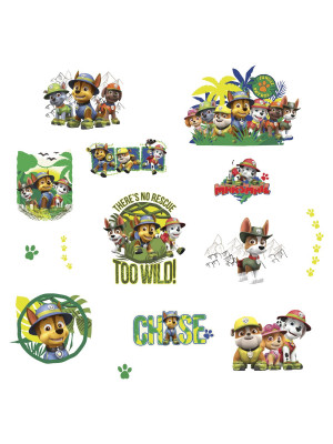 14 Stickers jungle Pat' Patrouille
