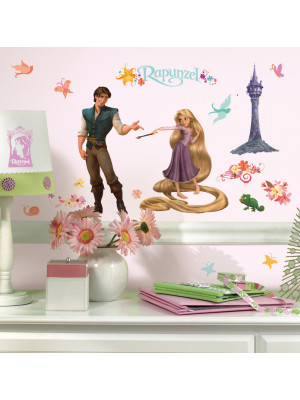 46 Sticker Princesse Raiponce Disney