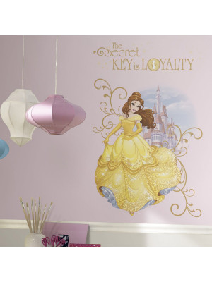 Stickers géant Loyalty Belle La Belle et la Bête Disney