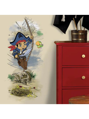 Stickers Géant Capitaine Jake et les Pirates du pays imaginaire Disney