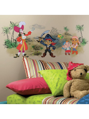 Stickers Jake et les Pirates du pays imaginaire Graphic Disney
