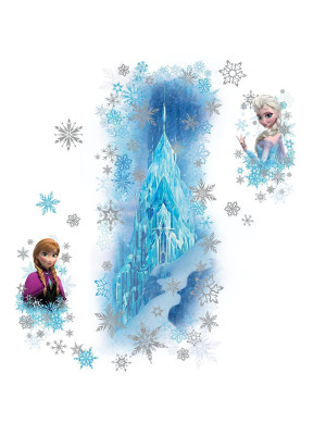 Stickers Scintillants Le Palais de Glace La Reine des Neiges Disney