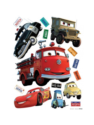 Stickers géant Cars & Friends Disney