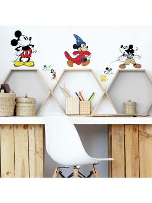 Stickers Disney Mickey Mouse - modèle 90 ans de magie