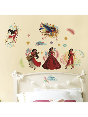 24 Stickers géant Elena d'Avalor Disney
