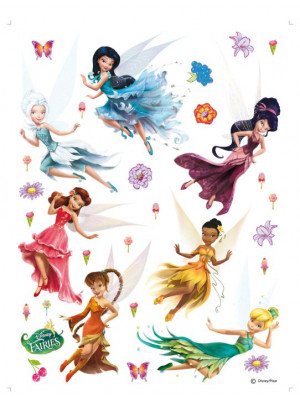 Stickers Fée Clochette La Vallée du printemps Disney fairies