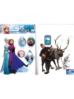 13 Stickers La Reine des Neiges Frozen Disney