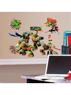 30 Stickers Club Tortues Ninja Nickelodeon
