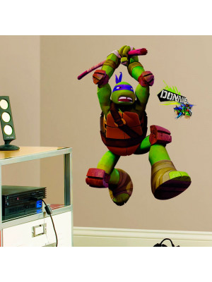 Stickers géant Donatello Tortues Ninja Nickelodeon H 90 CM