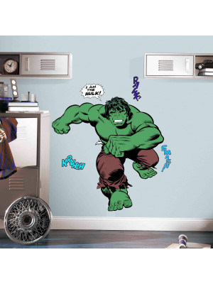 Stickers géants Marvel - modèle Hulk