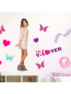 Grand sticker Violetta Disney