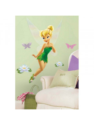 Stickers géant Fée Clochette Disney fairies