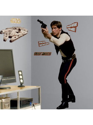 Stickers Géant Han Solo Star Wars