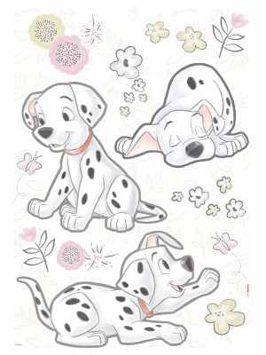 20 Stickers Les petits Dalmations Disney