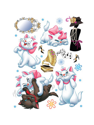 Stickers géant Les Aristochats Disney