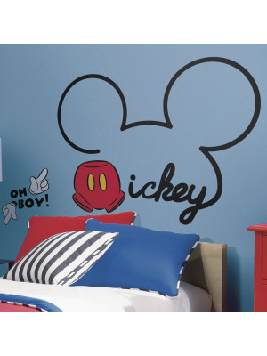 Sticker géant les oreilles de Mickey Mouse Disney