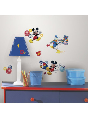 31 Stickers Mickey et ses amis ClubHouse Disney