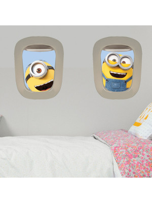 Stickers geant Air Les Minions
