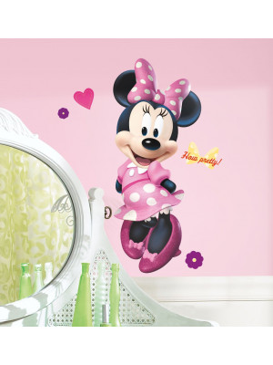 Stickers géant Minnie Mouse Boutique Disney