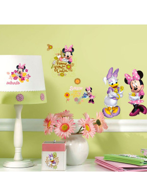 Stickers géant Minnie & Daisy à la Campagne Disney
