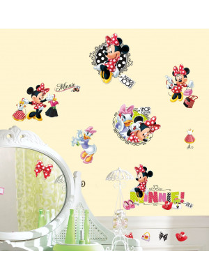 Stickers Fashion Addict Minnie Mouse Disney