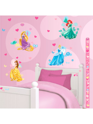 81 Stickers Princesse Disney Walltastic