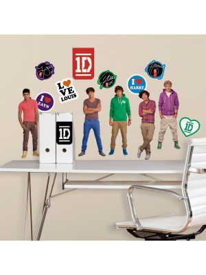 27 Stickers repositionnable One Direction