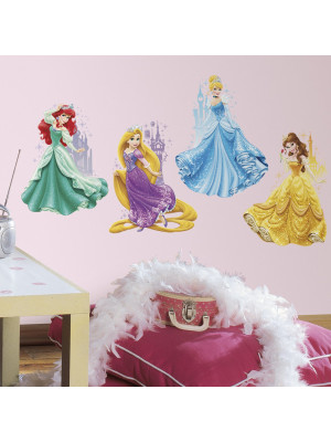 Stickers Princesse Disney Château Repositionnables