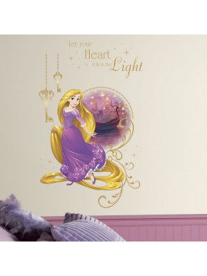 Stickers Géant Light Raiponce Princesse Disney