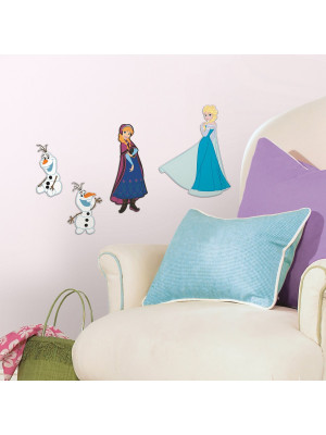 4 Stickers Mousse La Reine des Neiges Disney Frozen