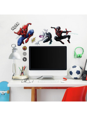 15 Stickers Spiderman Marvel