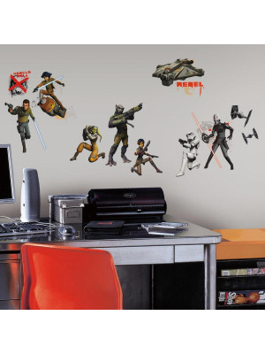 17 Stickers Géant Phosphorescent Star Wars Rebels