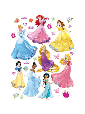 Stickers géant 8 Princesses Disney