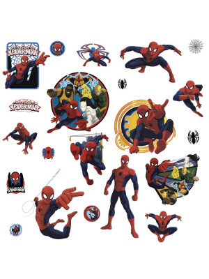 21 Stickers Ultimate Spiderman Marvel