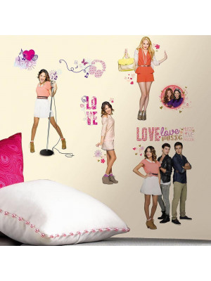 21 Stickers Géant Violetta Disney