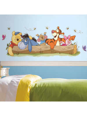 Stickers géant Winnie l'Ourson et ses amis Disney