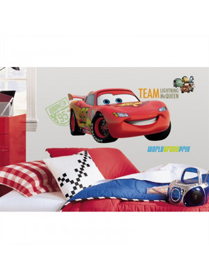 Sticker géant repositionnable Martin Disney Cars 45,7CM X 101,6CM