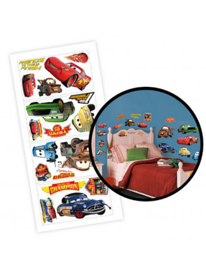 Stickers repositionnable Cars Disney