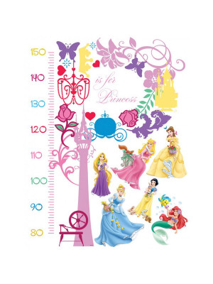 Stickers Toise Princesse Disney