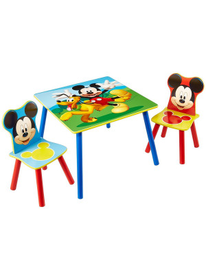 Table et chaises Mickey Disney
