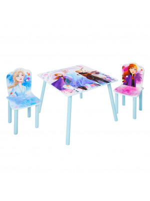 Ensemble table et 2 chaises La Reine des Neiges 2 Disney