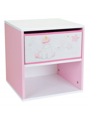 Table de chevet Licorne