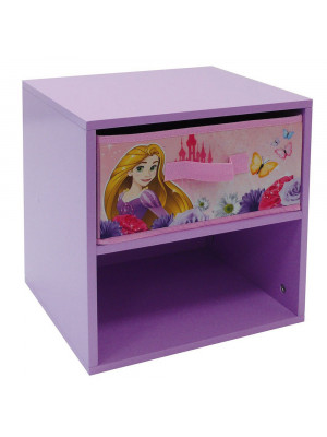 Table de chevet Princesse Disney Fleurs