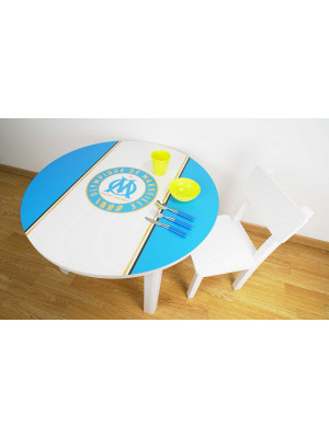 Table basse Olympique de Marseille Saint Charles 80X50 CM