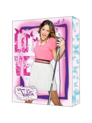 Tableau Violetta Sing Love Disney Channel
