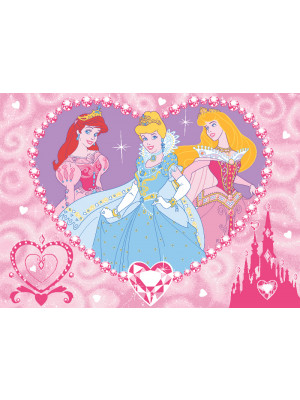 Tapis Diamants Princesse Disney